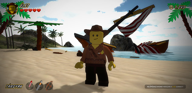 Lego adventure game