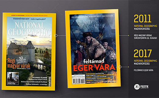 NATIONAL GEOGRAPHIC CÍMLAP II.