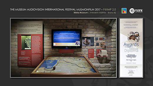 "AVICOM 2017 / ""INTERACTIVE EXHIBITION INSTALLATION"" CATEGORY / BRONZE"