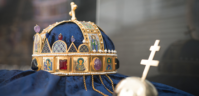 Holy Crown of Hungary copy exhibition