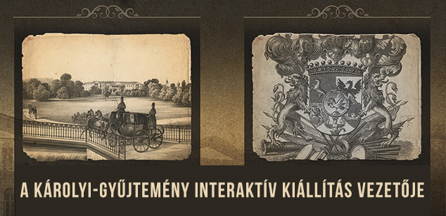Interactive exhibition guide for the Károlyi-collection